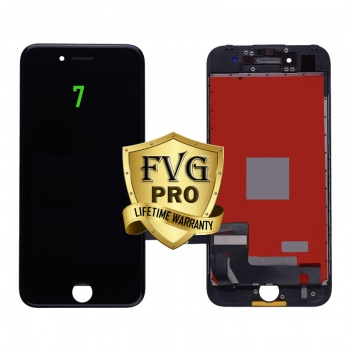 LCD Assembly For iPhone 7 (Deluxe Quality Aftermarket, Made By FVG PRO) (Black)