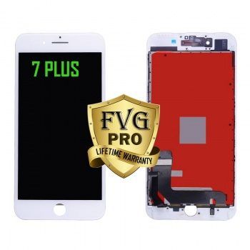 LCD Assembly For iPhone 7 Plus (Deluxe Quality Aftermarket, Made By FVG PRO) (White)