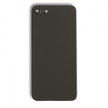 Back Glass Cover for iPhone 8 - Black