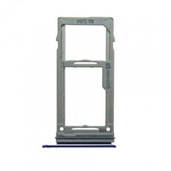SIM and MicroSD Card Tray (Blue) For Samsung Galaxy Note 9