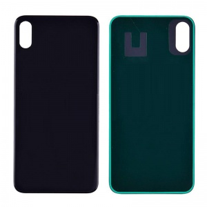 Back Glass Cover for iPhone XS Max - Black