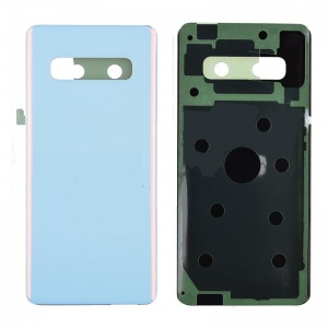 Back Cover Battery Door for Samsung Galaxy S10 Plus (White)