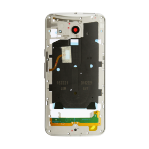Midframe Assembly (White) For Motorola Moto X Pure