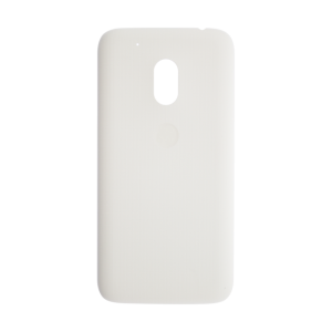 Play Rear Battery Cover (White) For Motorola Moto G4