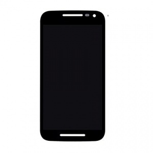 Display Assembly (LCD and Touch Screen) (Black) For Motorola Moto G (3rd Gen)