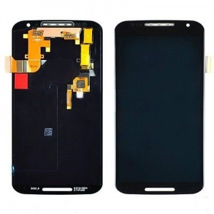 Display Assembly with Frame (Black) For Motorola Moto X (2nd Gen)