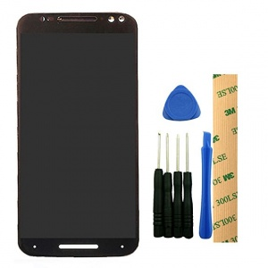 Display Assembly (LCD and Touch Screen) (Black) For Motorola Moto X Pure