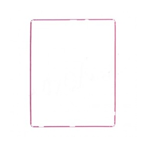 LCD Frame For iPad 2 - Hot Pink