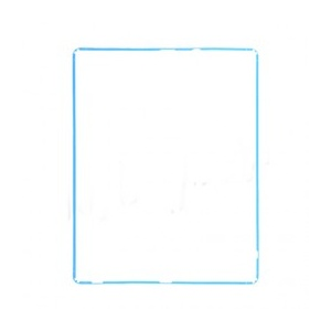 LCD Frame For iPad 2 - Light Blue