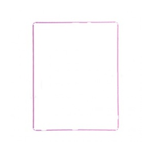 LCD Frame For iPad 2 - (Pink)