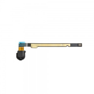 Audio/Headphone Jack with Flex Cable (Black) For iPad Air