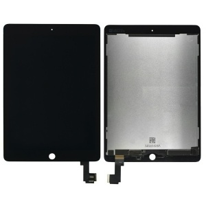 LCD & Digitizer Touch Screen Assembly For iPad Air 2 (Black) (Supreme Quality)