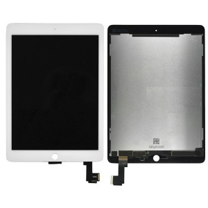 LCD & Digitizer Touch Screen Assembly For iPad Air 2 (White) (Supreme Quality)