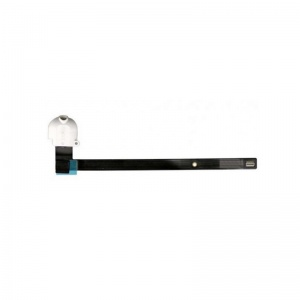 Audio/Headphone Jack with Flex Cable For iPad Air 2 (White)