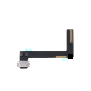 Charging Port with Flex Cable For iPad Air 2 (Black)