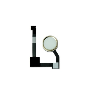 Home Button Key with Flex Cable For iPad Air 2 (Gold)