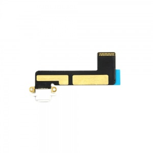 Charging Port with Flex Cable (White) For iPad Mini