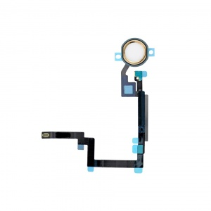 Home Button Key with Flex Cable For iPad Mini 3 (Gold)