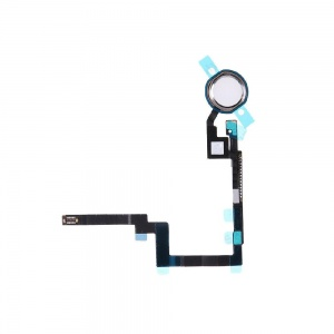 Home Button Key with Flex Cable For iPad Mini 3 (Silver)