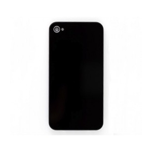 Back Glass For iPhone 4 GSM (Black)