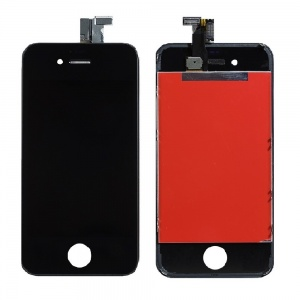 LCD Assembly (Supreme Quality Aftermarket, Made by Tian-Ma) (Black) For iPhone 4 GSM