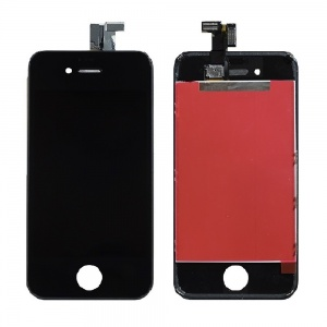 LCD Assembly (Supreme Quality Aftermarket, Made by Tian-Ma) (Black) For iPhone 4 CDMA