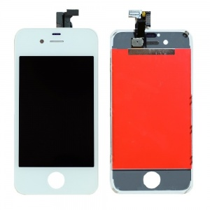 LCD Assembly (Supreme Quality Aftermarket, Made by Tian-Ma) (White) For iPhone 4 CDMA