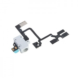 Headphone Jack (White) For iPhone 4 GSM