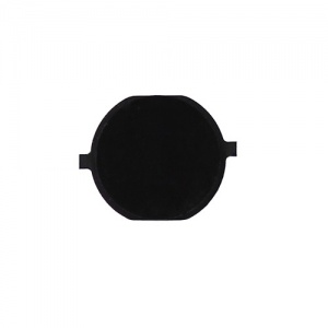 Home Button For iPhone 4 GSM/CDMA (Black/Plain)