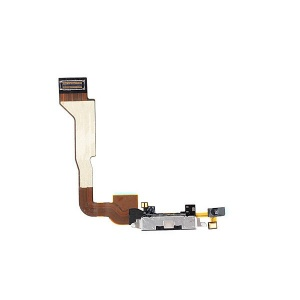 Charging Port Flex Cable For iPhone 4 CDMA (Black)