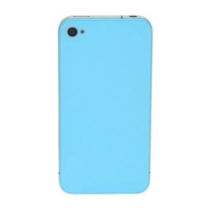 Back Glass For iPhone 4S/4 CDMA (Light Blue)
