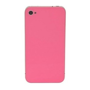 Back Glass For iPhone 4S/4 CDMA (Pink)