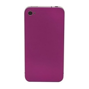 Back Glass For iPhone 4S/4 CDMA (Purple)