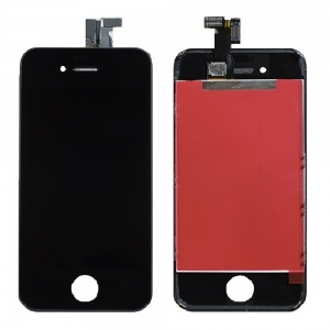LCD Assembly (Supreme Quality Aftermarket, Made by Tian-Ma) (Black) For iPhone 4S