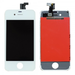 LCD Assembly (Supreme Quality Aftermarket, Made by Tian-Ma) (White) For iPhone 4S