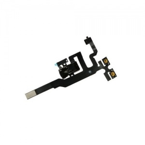 Headphone Jack For iPhone 4S (Black)