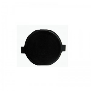 Home Button (Black/Plain) For iPhone 4S