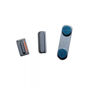 Power/Volume/Mute Button Bundle For iPhone 5 (Black)