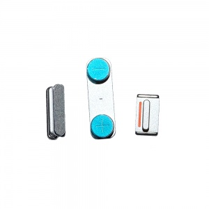 Power/Volume/Mute Button Bundle For iPhone 5 (White)