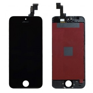 LCD Assembly (Supreme Quality Aftermarket, Made by Tian-Ma) (Black) For iPhone 5S
