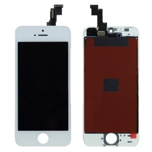 LCD Assembly (Supreme Quality Aftermarket, Made by Tian-Ma) (White) For iPhone 5S