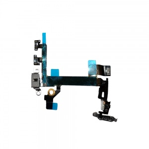 Power/Volume Button Flex Cable For iPhone 5S