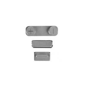 Power/Volume/Mute Button Bundle For iPhone 5S (Gray)