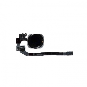 Home Button with Flex Cable (Black) For iPhone 5S