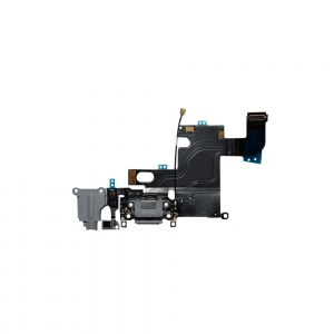 Charging Port Flex Cable For iPhone 6 (Gray)