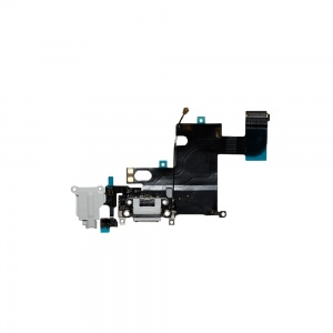 Charging Port Flex Cable For iPhone 6 (White)