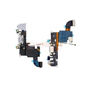 Charging Port Flex Cable (Gray) For iPhone 6s