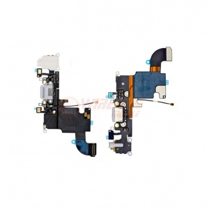 Charging Port Flex Cable For iPhone 6s (White)