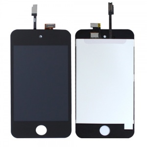 LCD with Touch Screen Digitizer For iPod Touch 4 (Premium Quality) (Black)