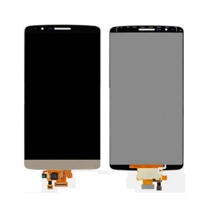 LCD and Touch Screen Digitizer (Gold) For LG G3 D850/851/855/VS985/LS990/F400